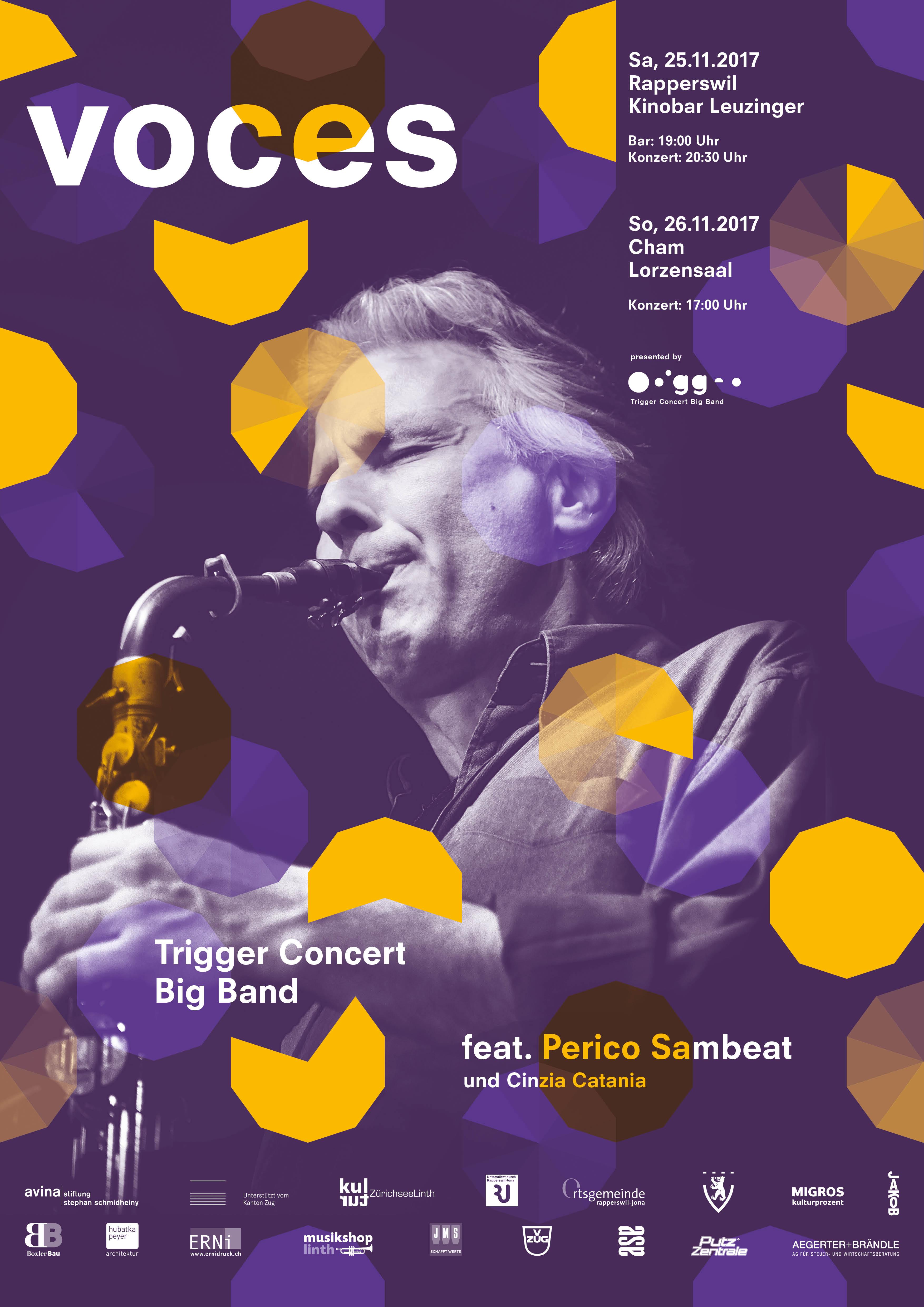 Trigger Concert Big Band Projekte